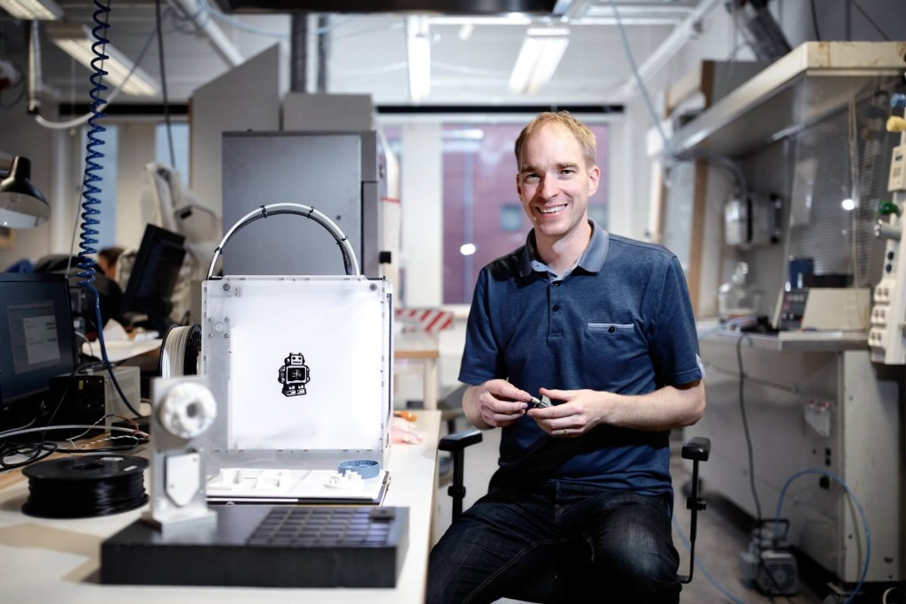 Anders Olsson and Ultimaker team up